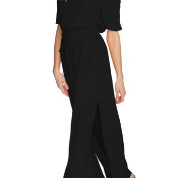 1.STATE Blouson Off the Shoulder Maxi Dress | Nordstrom