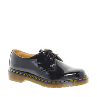 Dr Martens 1461 Classic Black Patent Flat Shoes