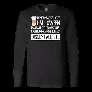 Halloween - disney fall life - Men Long Sleeve T Shirt - TL00702LS