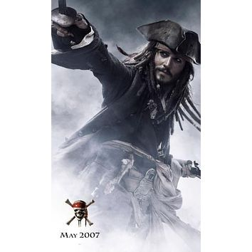 Pirates Of The Caribbean Johnny Depp Movie Poster 11 inch x 17 inch poster