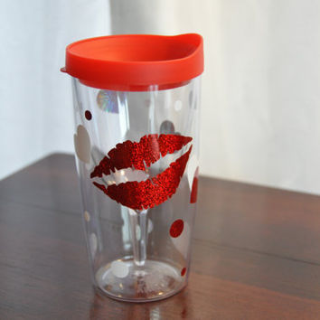 Mommy's Sippy Cup Tumbler Wine Glass