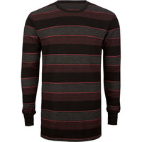 Shouthouse Revenge Mens Thermal Burgundy  In Sizes