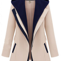 'The Kristie' Hooded Blazer