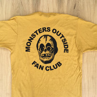 Monsters Outside Fan Club Tee Shirt (Soft)