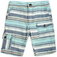 Outlet Fore!! Axel and Hudson Blue Striped Board Shorts