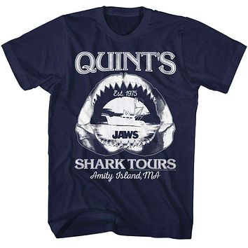 Adult Shark Tours Tee Shirt
