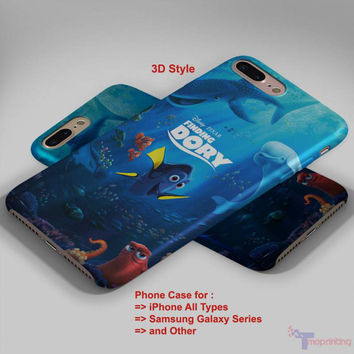 Finding Nemo Dory 2 - Personalized iPhone 7 Case, iPhone 6/6S Plus, 5 5S SE, 7S Plus, Samsung Galaxy S5 S6 S7 S8 Case, and Other