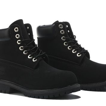 Timberland 10061 Anti Fatigue Outdoors Classic High Boot Shoes Black