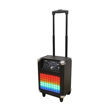 Craig Tower Speaker System With Decorative Color Changing Lights Tube-Speakers and Bluetooth Wireless Technology