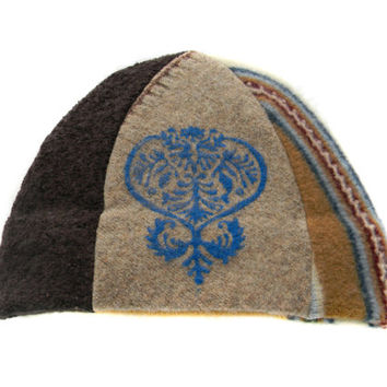 Upcycled Beanie Hat #22
