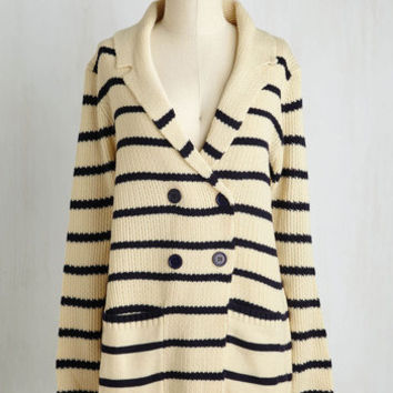 Long Long Sleeve Shoreward March Cardigan