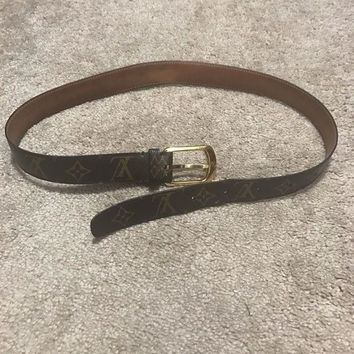 GON8C louis vuittons belt