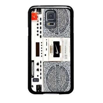 nike air jordan radio boombox samsung galaxy s5 s3 s4 s6 edge cases