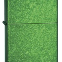 Zippo Ice Pocket Lighter, Meadow Green