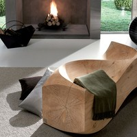 WOODEN BENCH LOVESEAT | RIVA 1920
