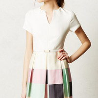 Colorblock Circle Dress