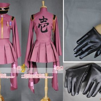 Vocaloid Miku Senbon Sakura Cosplay Costume Any Size