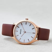 Breda Asper Rose Gold & Brown Watch , Brown