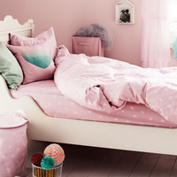 H&M - Fitted Sheet - Light pink