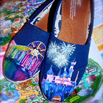 Disney TOMS & Custom Toms You design them I paint them. Limited Time Low Price. NEW SHOP Limited time offer