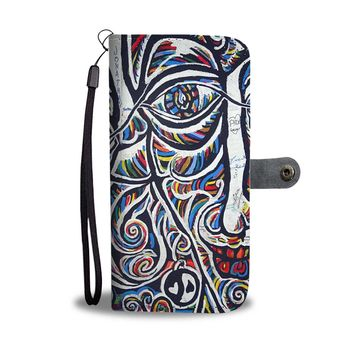 Artistic Graffiti Phone Wallet Case