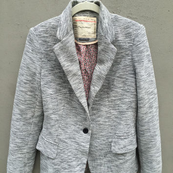 Anthropologie Cartonnier Knit Blazer