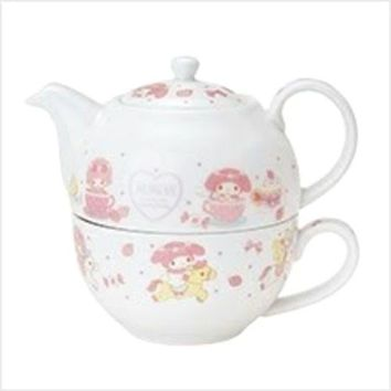 Very Rare SANRIO My Melody Tea Pot & Cup Limited Novelty -Not for Sale in Japan-