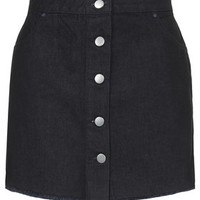 **Denim Pelmet Skirt by Marques'Almeida X Topshop - Indigo Denim