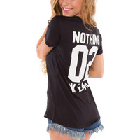 Nothing 02 Wear Top - Black