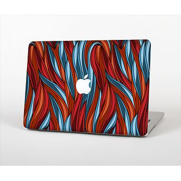 The Red, Orange and Blue Vector Strands Skin Set for the Apple MacBook Pro 15""
