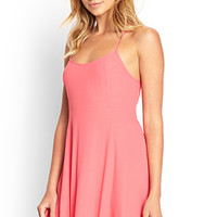 FOREVER 21 Cutout Back Slip Dress