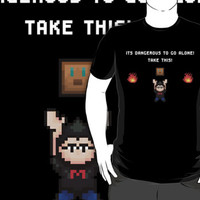 Legend of Markiplier (White Lettering) by zorromuerte