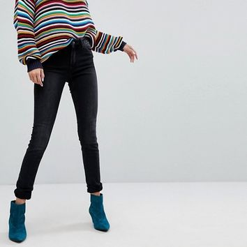 Monki Mocki Slim Mid Waist Jeans at asos.com