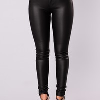 Allie Skinny Jeans - Black