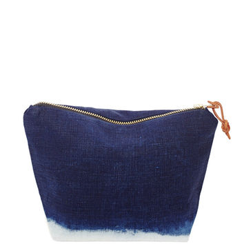 Le Renard — SEA OF INDIGO POUCH