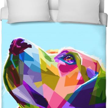 ROB Mans Best Friend Duvet Cover