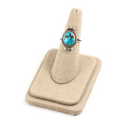 50's__Vintage__Sterling Turquoise Ring