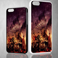 Supernatural Painting X0203 iPhone 4S 5S 5C 6 6Plus, iPod 4 5, LG G2 G3, Sony Z2 Case