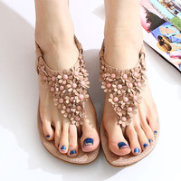 Fashion Floral bohemian Sandals Shoe