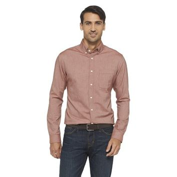 Merona Men's Solid Oxford Shirt