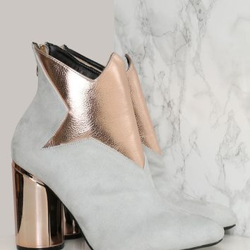 SPACE ODDITY BOOTIE - GRAY