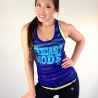 oGorgeous Gym Boutique - BEAST MODE Racerback
