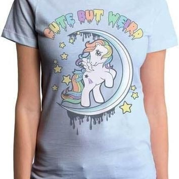 My Little Pony 'Cute But Weird Shirt' Juniors Goodie Two Sleeves