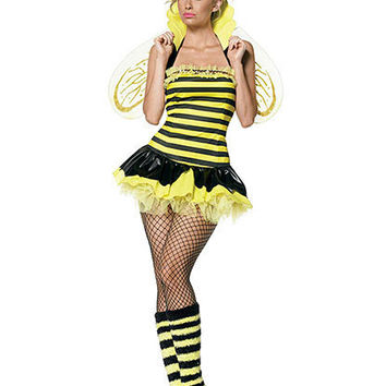 Queen Bumble Bee Costume | Sexy Clothes Womens Sexy Dresses Sexy Clubwear Sexy Swimwear | Flirt Catalog