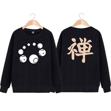 Overwatch Zenyatta Orb of Destruction Pullover Sweater Black