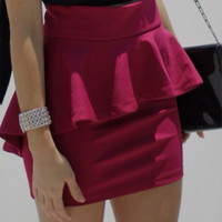 Peplum Darling Skirt