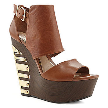 Gianni Bini Carta Hardware Wedges | Dillards.com