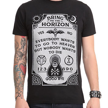 Bring Me The Horizon Ouija T-Shirt | Hot Topic