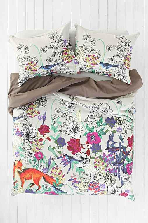 Plum Bow Forest Critters Shower Curtain Curtain