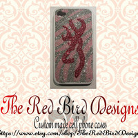 Glitter Sparkly Browning iPhone 4/4S OR 5 Cell Phone Case